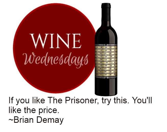 Brian Demay's Wine Wednesday: Unshackled Red Blend