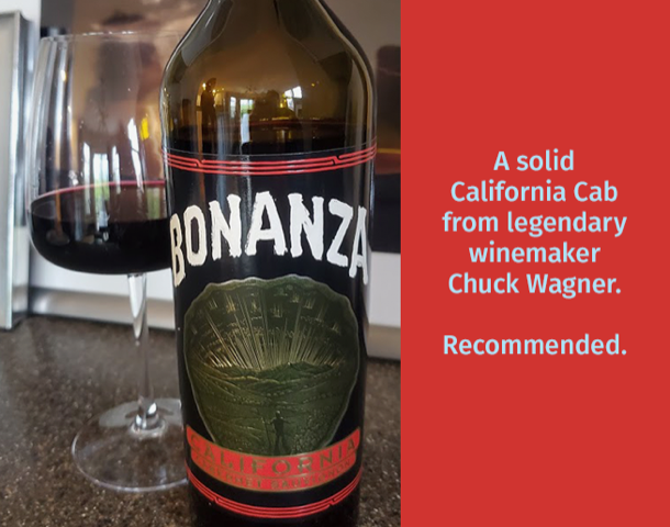 Brian Demay's Wine Wednesday: Bonanza Cabernet