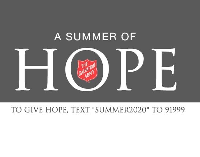 "Make it a ""Summer of Hope"""