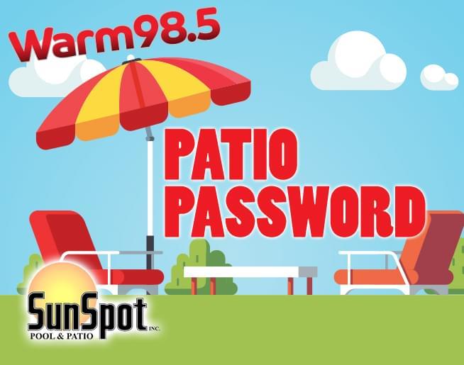 Patio Password!