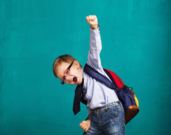 He's Finally Back in School-A Mom's Story