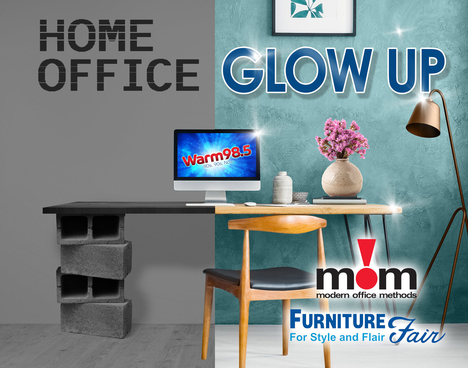 Home Office Glow Up!