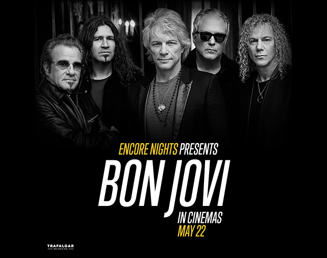 """See Bon Jovi """"Live"""" at a Theater or Drive in Near You!"""