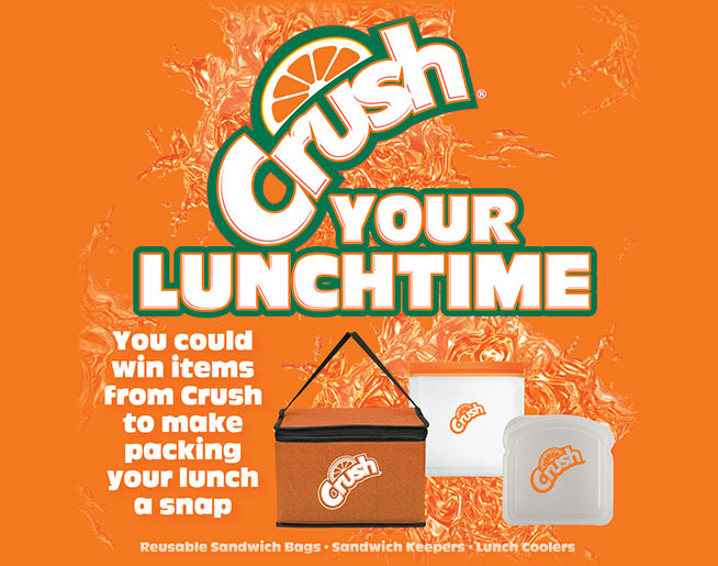 Crush Your Lunchtime!