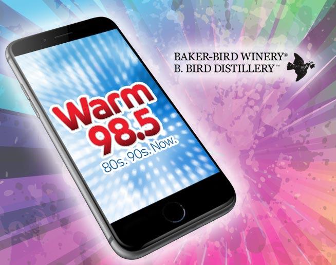Text-in-to-Win Weekend: Baker Bird Winery