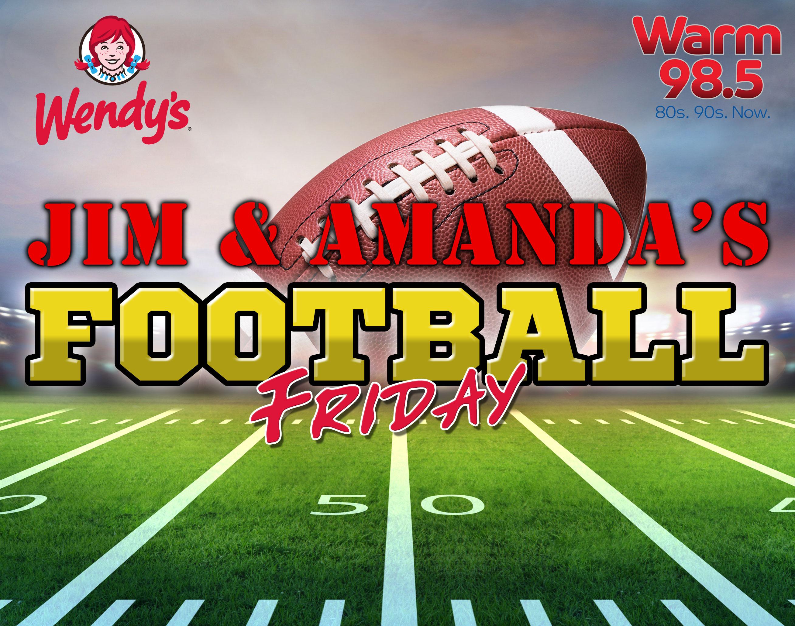 Jim and Amanda's Football Friday