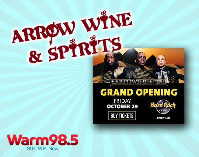 Warm Wheels at Arrow Wine and Spirits