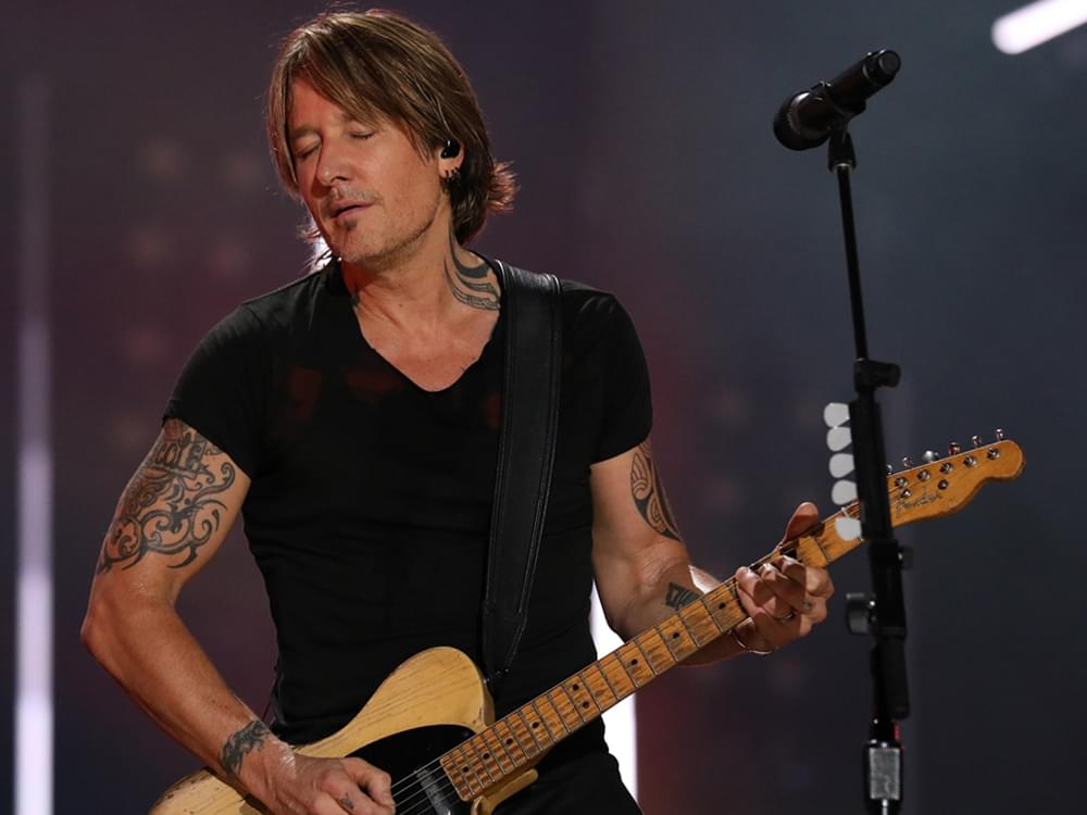 "Watch Keith Urban Perform New Song, ""God Whispered Your Name,"" on ""The Late Show"""