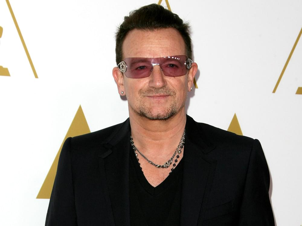 """Bono's List of """"60 Songs That Saved My Life"""" Features Johnny Cash's """"Hurt"""""""