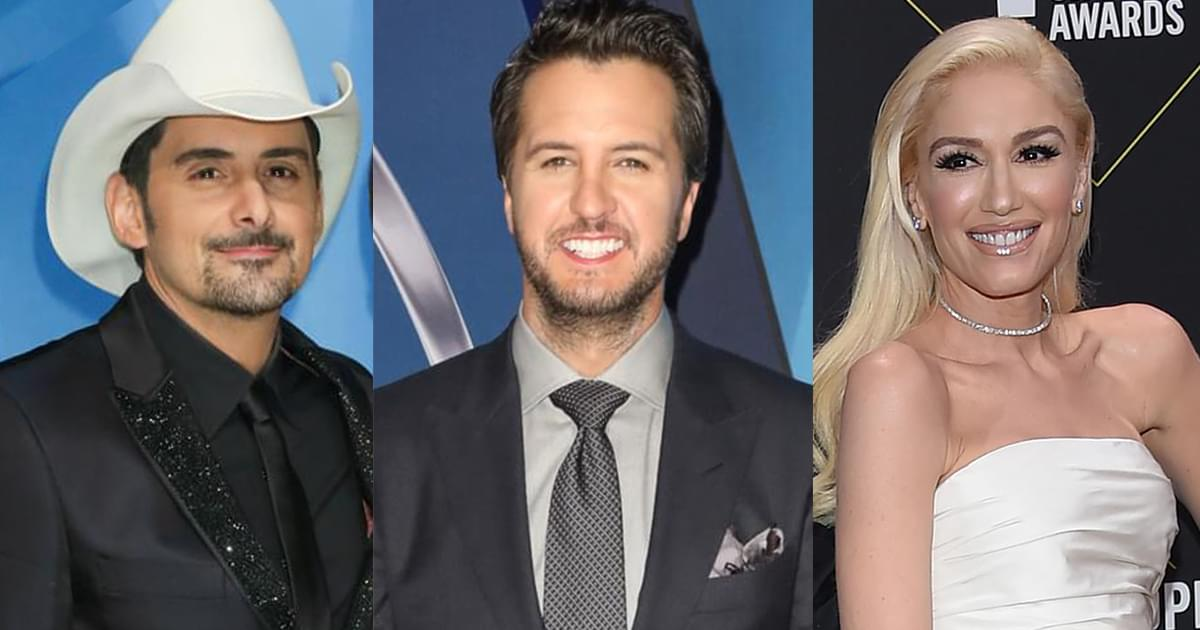 Brad Paisley, Luke Bryan, Gwen Stefani & More to Honor New Rock & Roll Hall of Fame Inductees