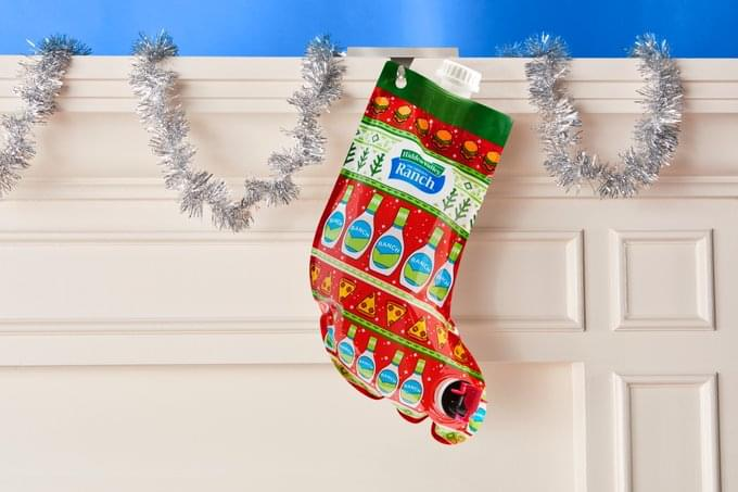Hidden Valley Is Selling a Christmas Stocking Filled with Ranch