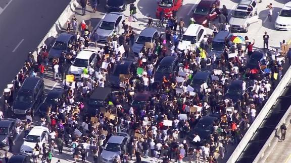 Protests continue across the nation