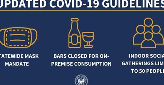 Nearly 700 restaurants, bars, and businesses in Louisiana failed inspections in July for violating the governor's coronavirus restrictions