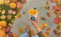 Pumpkin Spice Flavored Mac N Cheese for B'fast? Um… Would YOU Eat It????