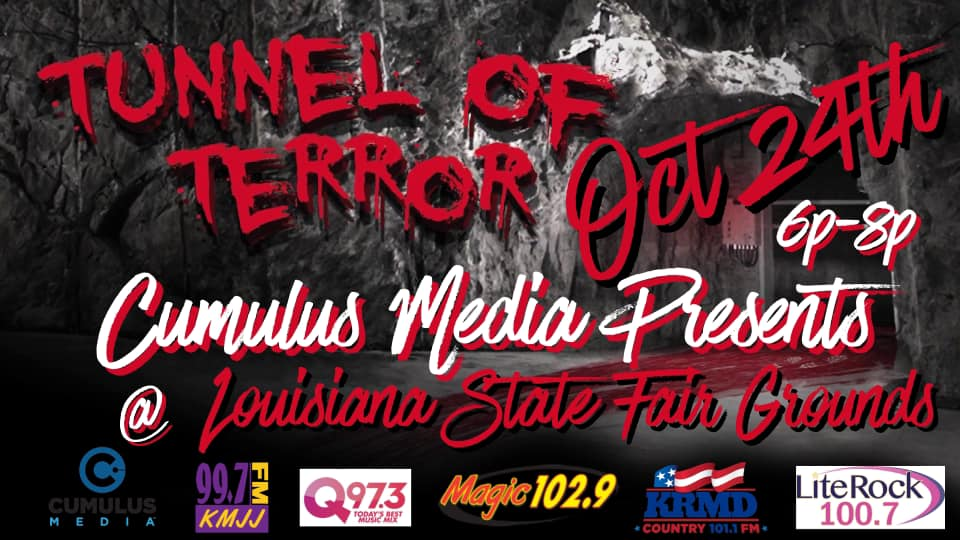 Join Us For The Tunnel Of Terror!