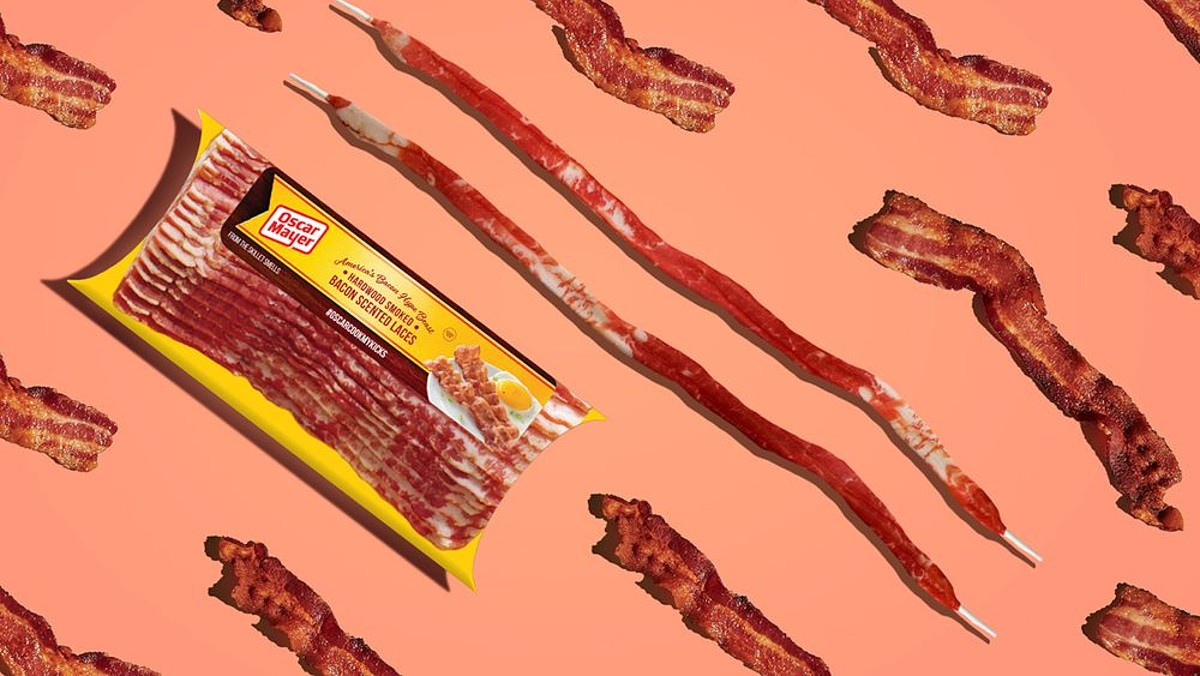 Oscar Mayer Is Releasing Shoelaces That Smell Like Bacon