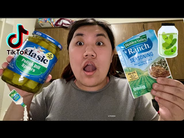 Ranch Pickles Are Taking Over the World