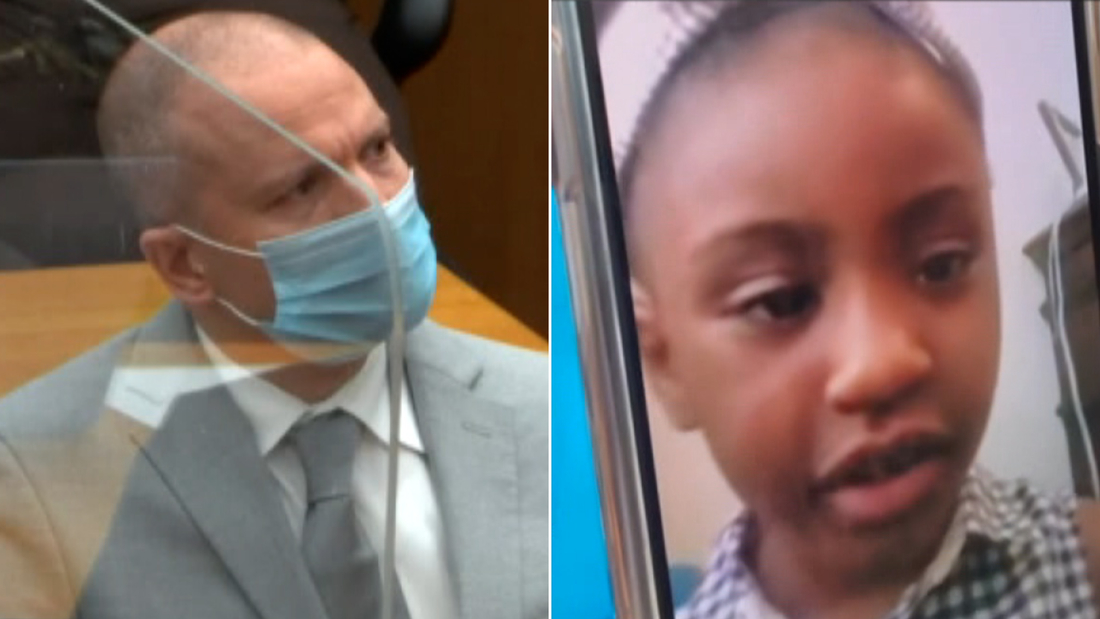 #MagicUpdate Sentencing is underway-Chauvin hears from daughter of GFloyd