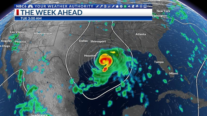 A possible tropical storm or hurricane could impact the ArkLaTex early next week