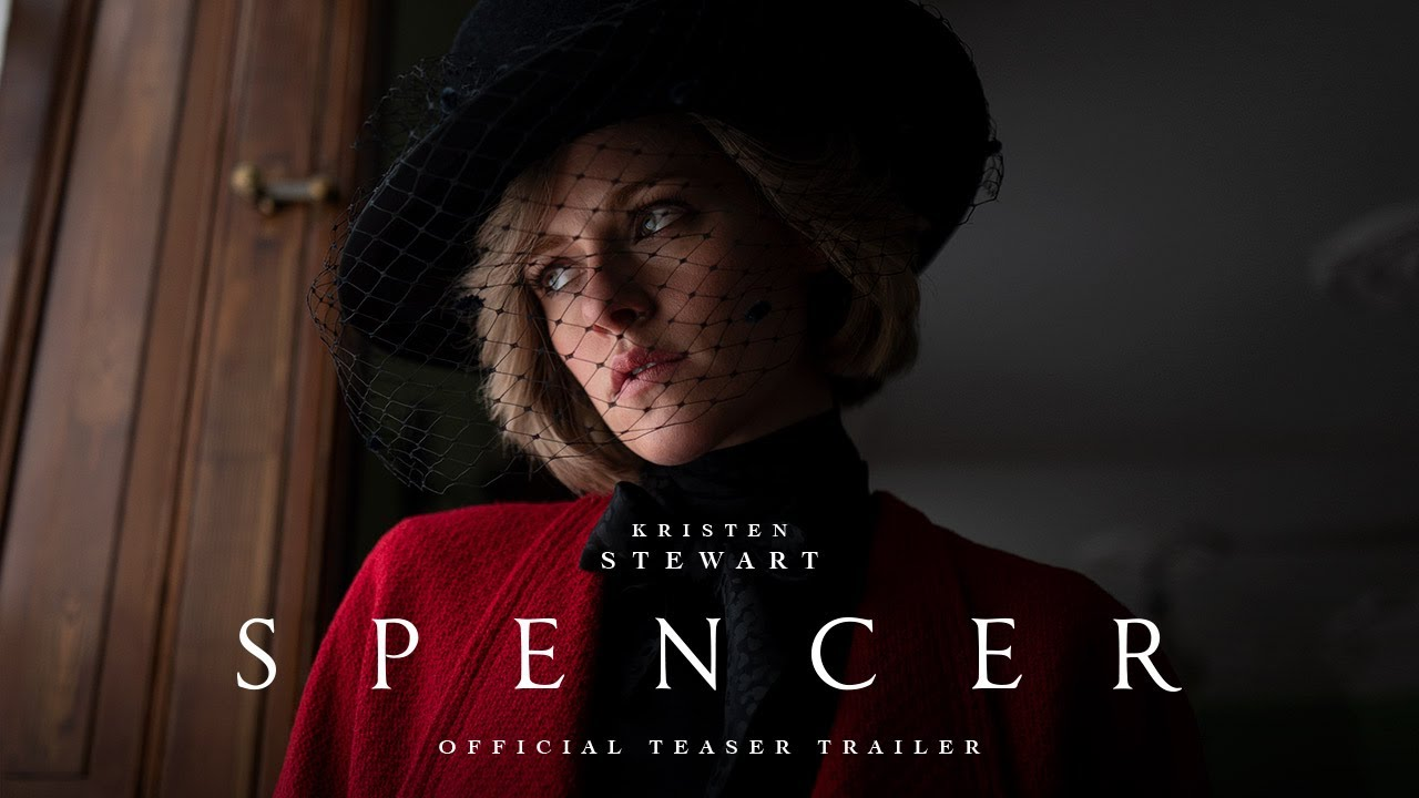 "WATCH: Kristen Stewart as Princess Diana in the 1st Trailer ""Spencer"""
