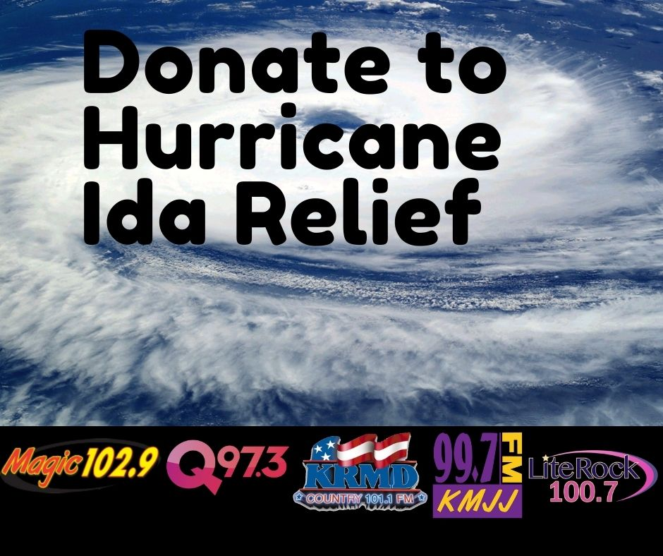 Join Cumulus Media, The Sewing Shop and Praise Temple As We Collect Supplies For Those Affected By Hurricane Ida
