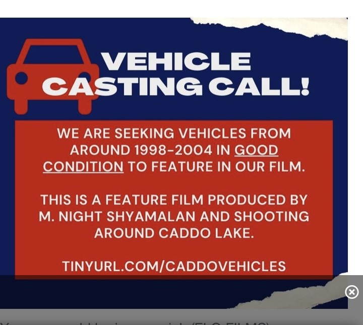 Your Car Could Be A Movie Star