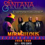 Santana & Earth, Wind, and Fire – 7/1
