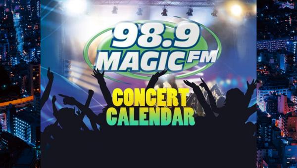 Magic FM Concert Calendar