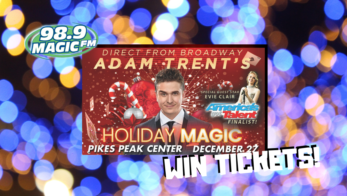 WTH QUESTION: Win Tix to the Adam Trent Magic Show