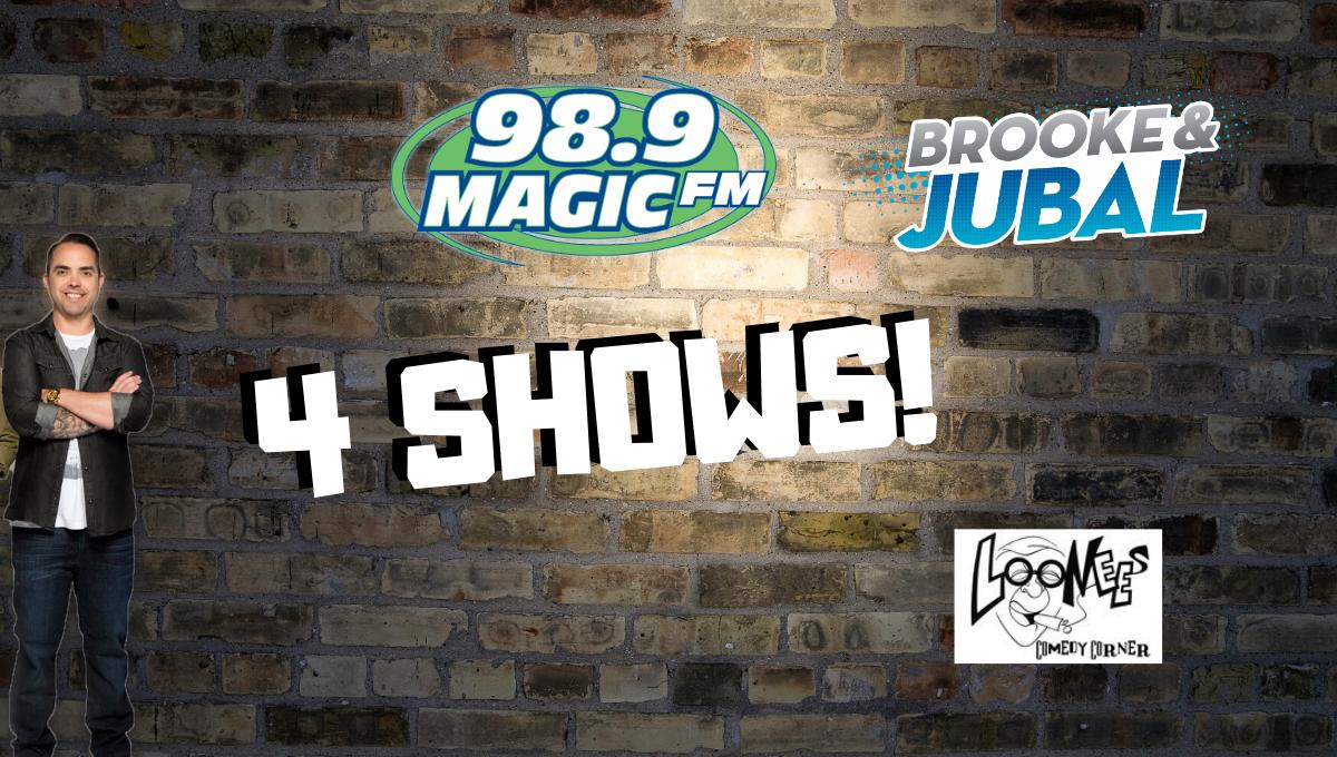 See Magic FM Morning's JUBAL at Loonees!