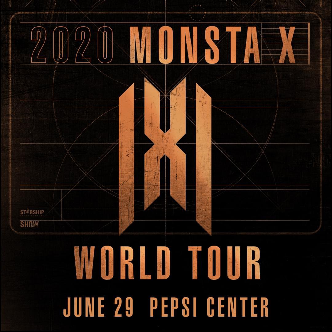 MONSTA X – PEPSI CENTER (6.29)