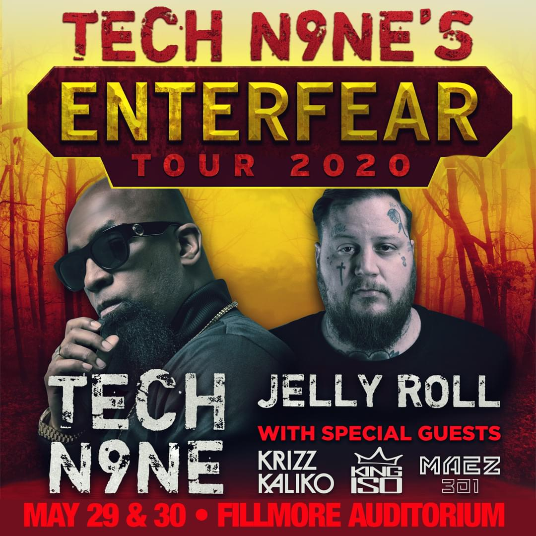 TECH N9NE @ THE FILLMORE (5.29 + 5.30)