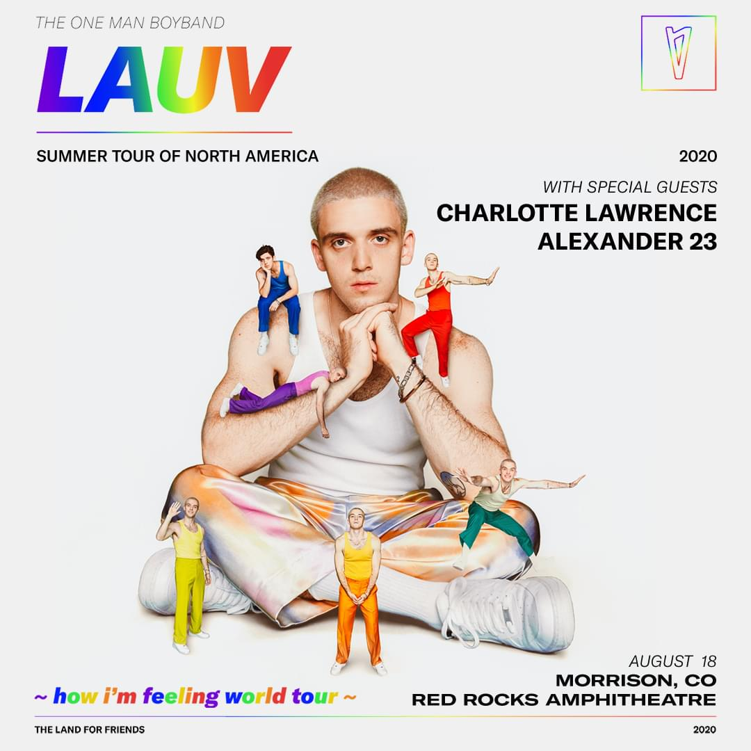 LAUV @ Red Rocks (8.18)
