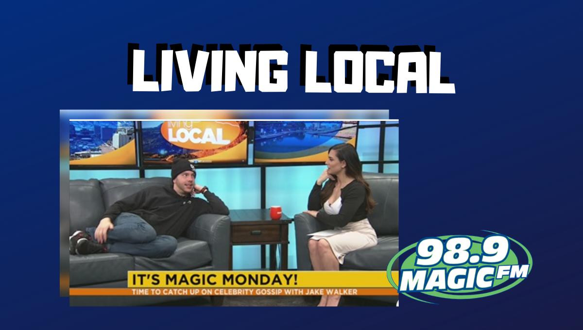 Jake Walker Talks Celeb Gossip With Living Local