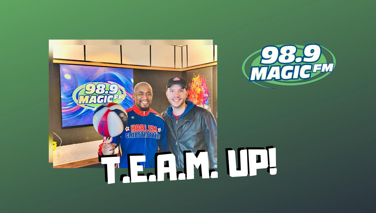 Harlem Globetrotters and Magic FM T.E.A.M. UP Against Bullies!