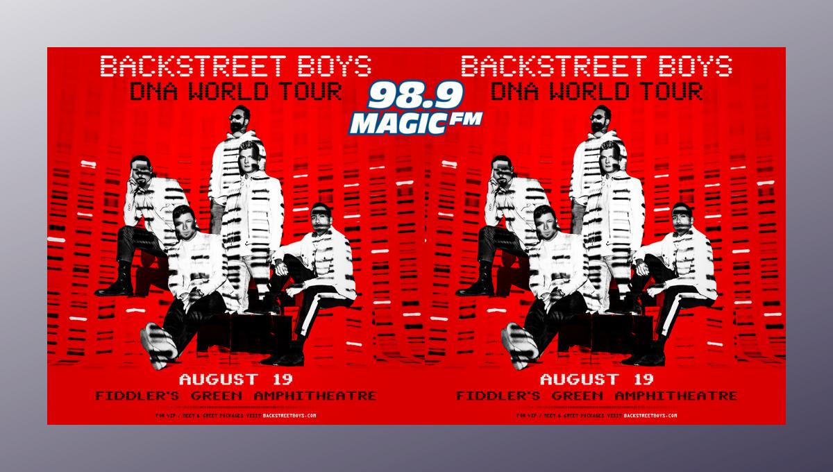 ***RESCHEDULED*** Backstreet Boys @ Fiddlers Green