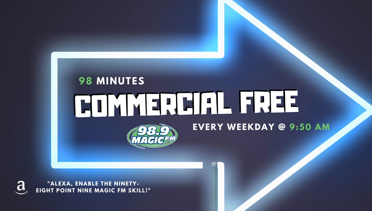 98 Minutes Commercial-Free Every Weekday!