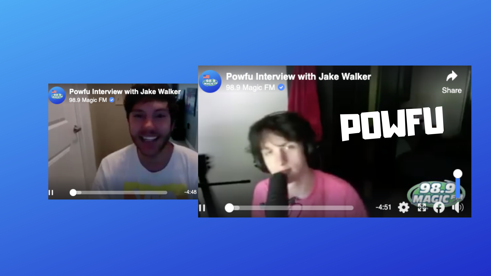 Powfu Chats With Jake Walker