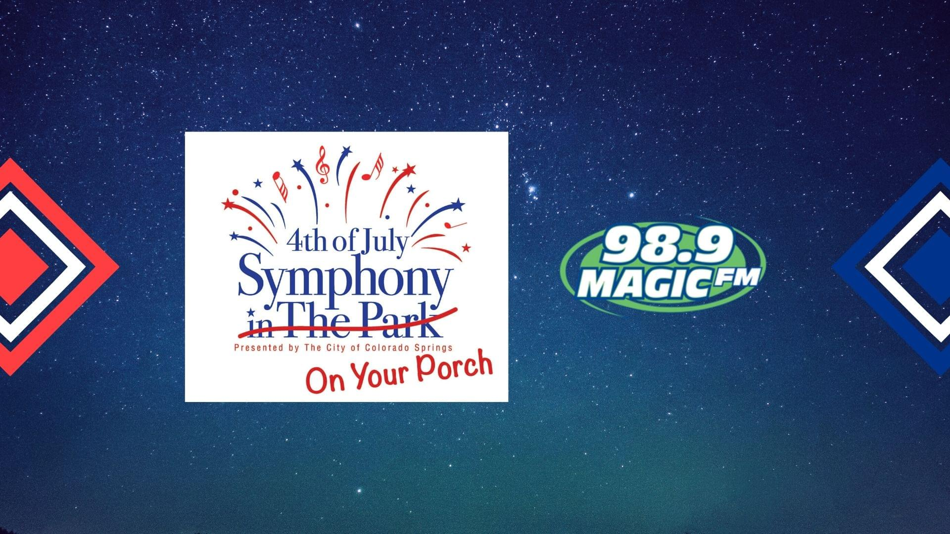 4th Of July Symphony ON YOUR PORCH!