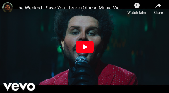"The Weeknd ""Save Your Tears"" Music Video"