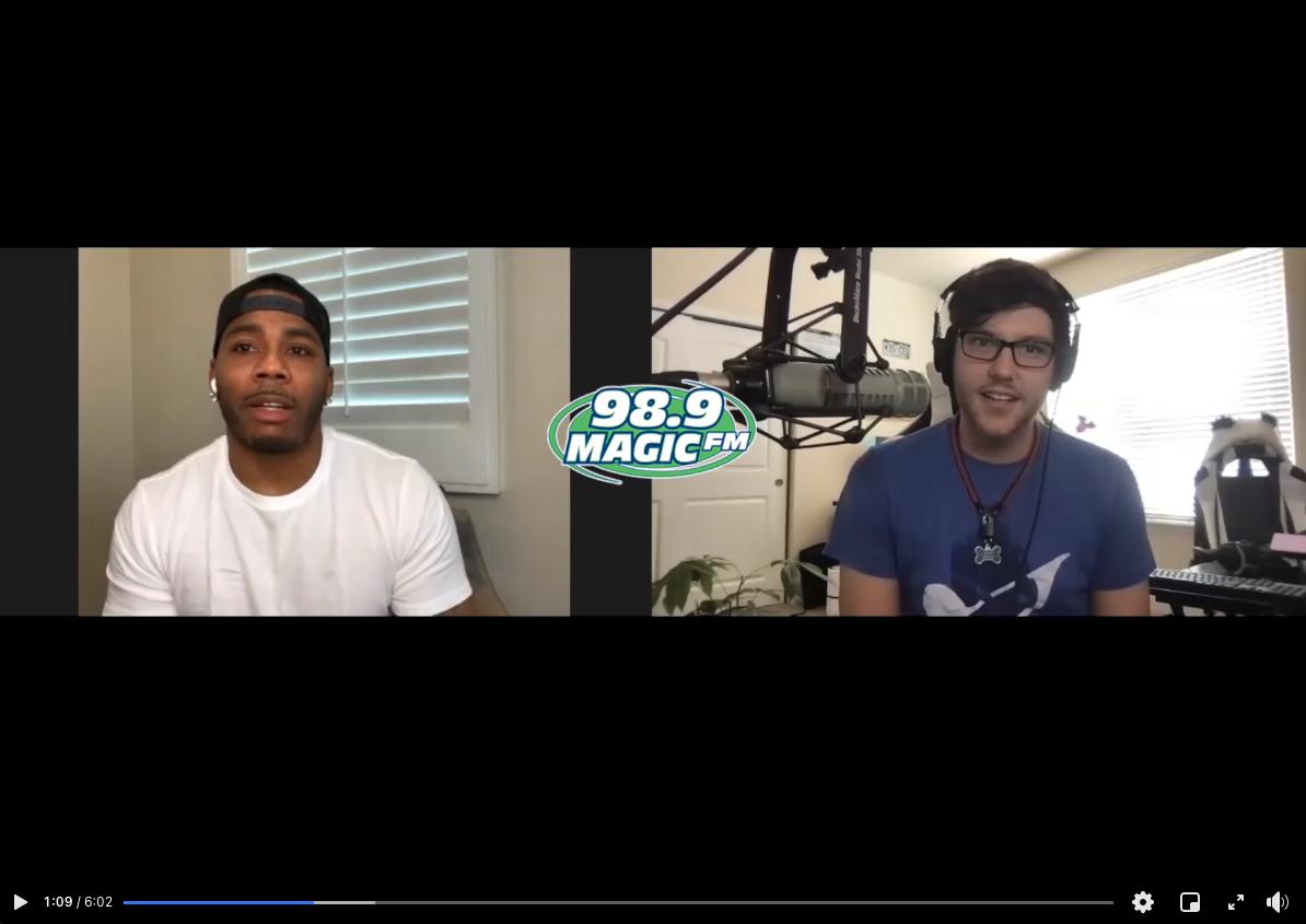 Jake Walker Talks With Nelly