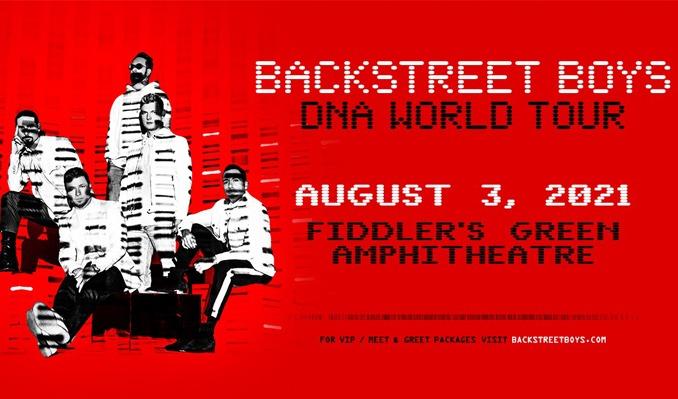 BACKSTREET BOYS @ FIDDLER'S 8.3.21