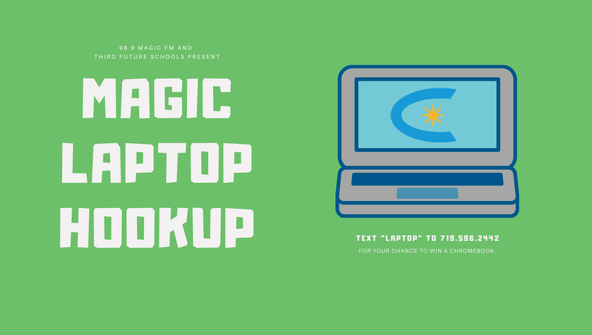 Magic Laptop Hookup!