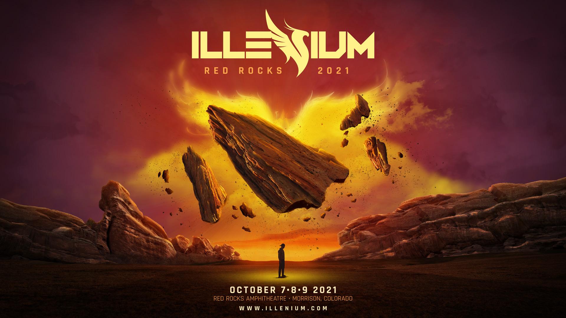 ILLENIUM @ RED ROCKS 10.7.21