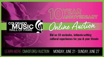 Colorado Music Hall of Fame Celebrates 10th Anniversary, Return of Live Music