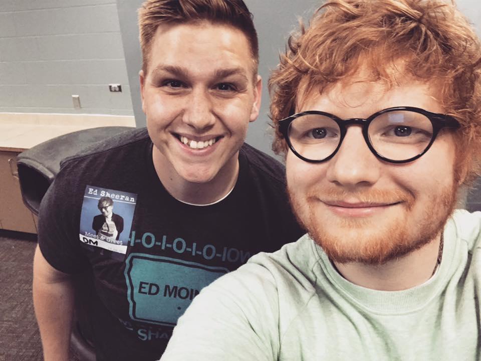 Ed Sheeran Takes On Hot Ones