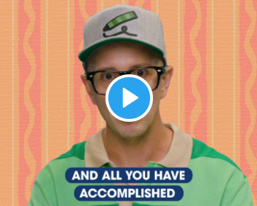 """STEVE BURNS, the O.G. host of """"Blues Clues"""", made a video for his grown-up fans"""