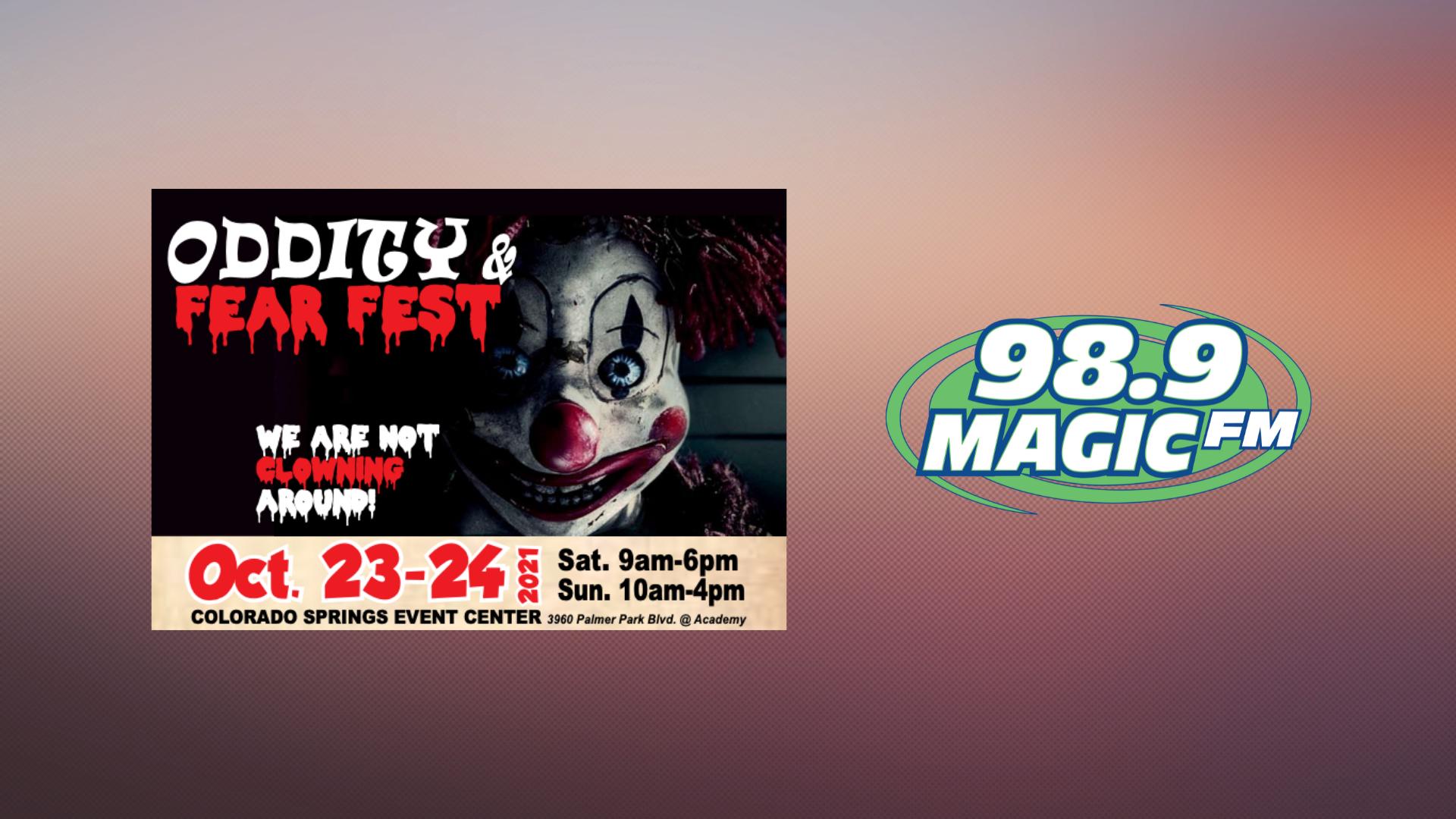 Win Oddity and Fear Fest Tix