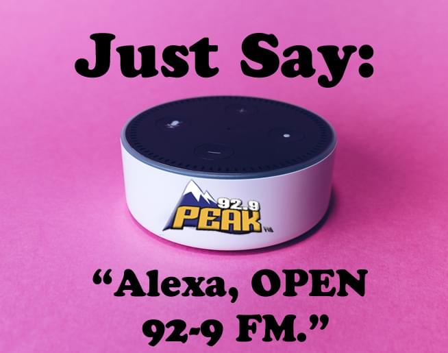 Play Peak FM on ALEXA!