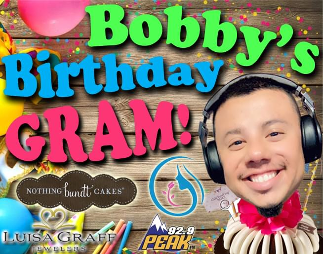 Bobby's Birthday Gram!